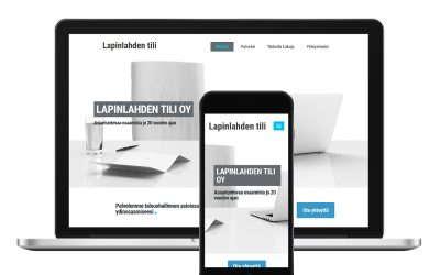 Kotisivut tilitoimistolle – lapinlahdentili.fi