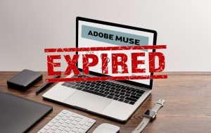 Adobe Muse -julkaisujärjestelmä on tullut tiensä päähän